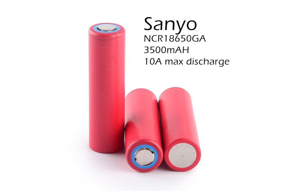 Pin cell Li-ion SANYO NCR18650GA 3500mAh