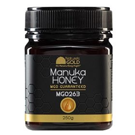 MẬT ONG 100% RAW AUSTRALIAN MANUKA HONEY NATURE'S GOLD 250G MGO 263