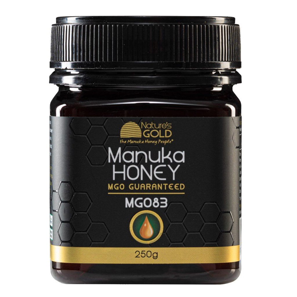 MẬT ONG 100% RAW AUSTRALIAN MANUKA HONEY NATURE'S GOLD 250G MGO 83