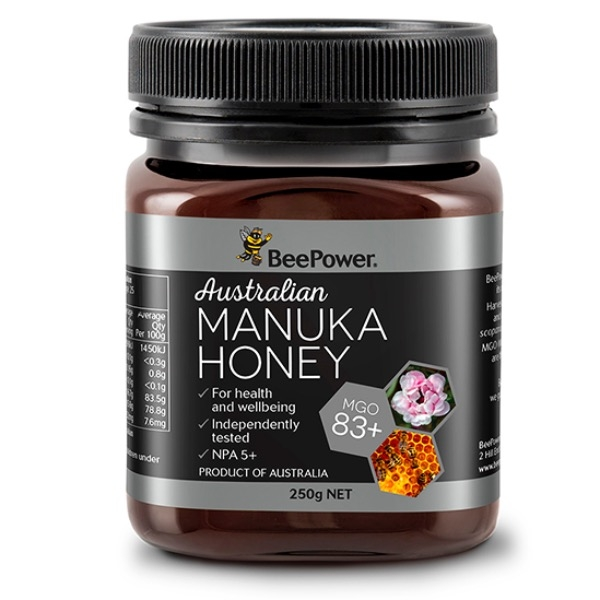 MẬT ONG AUSTRALIAN MANUKA HONEY BEEPOWER MGO 83+