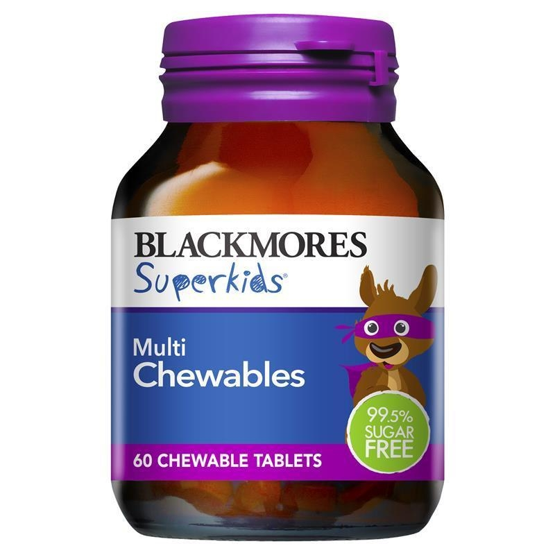Viên Nhai Vitamin Blackmore Superkids Multi Chewables
