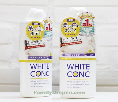 Sữa tắm White Conc Body 360ml