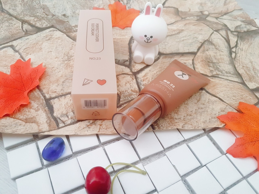 KEM BB MISSHA PERFECT COVER B B CREAM LINE FRIENDS EDITION