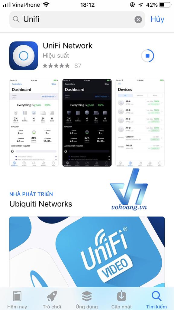 Hướng dẫn cài đặt Access Point Unifi bằng Unifi Network