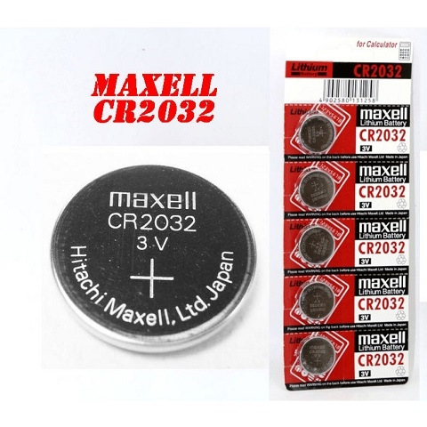 Pin Maxell CR2032 (Pin CMOS)