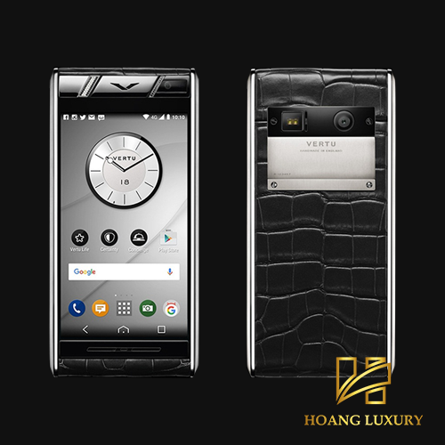 Vertu Aster Diamonds Black Alligator mới 100%