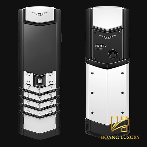 Vertu Signature S Black and White lướt nhẹ