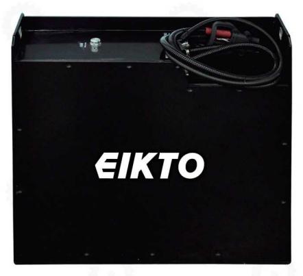 Bình ắc quy khô Lithium- Ion 24V/150Ah hiệu EIKTO dùng cho xe nâng, mới 100%