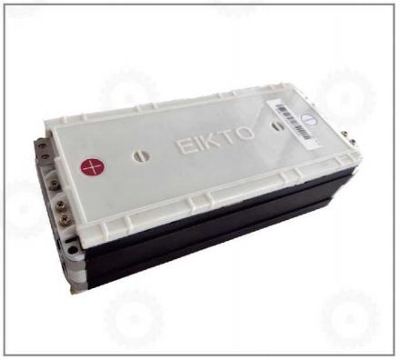 Bình ắc quy khô Lithium- Ion 24V/80Ah2P8S hiệu EIKTO dùng cho xe nâng, mới 100%