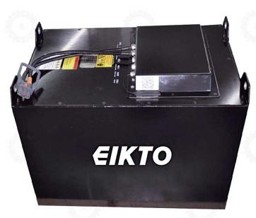 Bình ắc quy khô Lithium- Ion 72V/450Ah hiệu EIKTO dùng cho xe nâng. Mới 100%