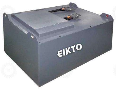 Bình ắc quy khô Lithium- Ion 80V/450Ah hiệu EIKTO dùng cho xe nâng, mới 100%
