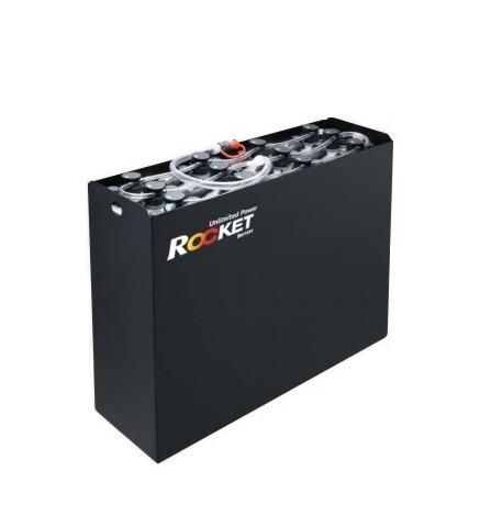 Ắc quy xe nâng Rocket VCFS 201.Hiệu điện thế 48V. Nhập khẩu trực tiếp từ Hàn Quốc