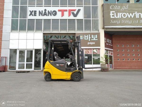 Xe nâng cũ Komatsu do TFV phân phối