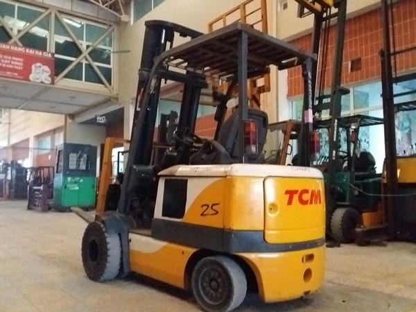 Xe nâng điện 2.5 TCM FB25-6, Khung V4000. [Số khung: 77P02489] [Mã: B25TCD30.031]
