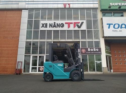 Xe nâng điện 2 tấn KION Baoli KBE20N
