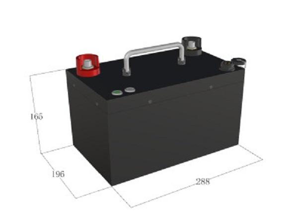 Bình ắc quy khô Lithium- Ion 25.6V/40Ah