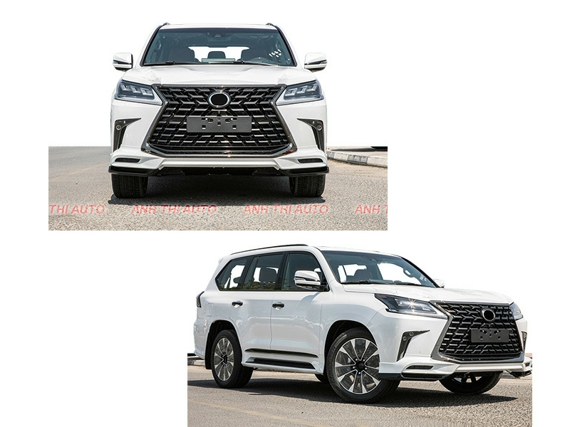 Nâng Đời Xe Lexus LX570 2016-2020 Up To 2021 SuperSport