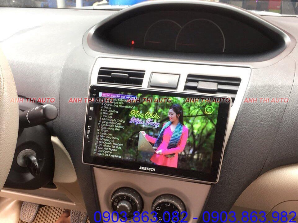 DVD ANDROID ZESTECH CHO XE TOYOTA VIOS 2011 | Z800