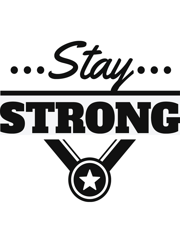 S006 Mẫu in đồng phục lớp - Stay ... Strong