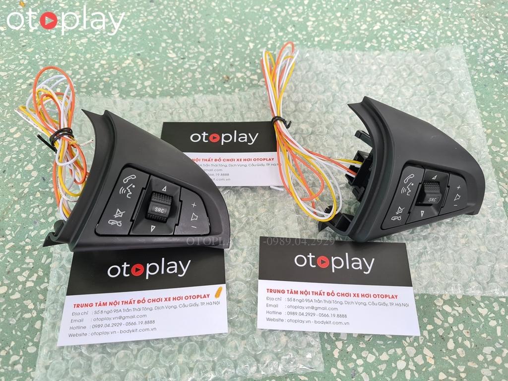 Khiển vô lăng cho xe Vinfast Fadil chỉnh âm thanh, đàm thoại   OtoPlay - Phụ kiện đồ chơi ô tô