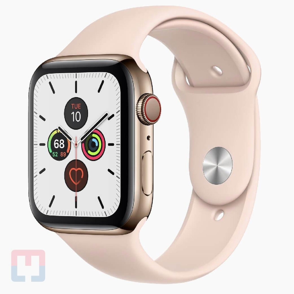 Apple Watch Seri 5 44mm Stainless Steel GPS Band (Chưa Active)