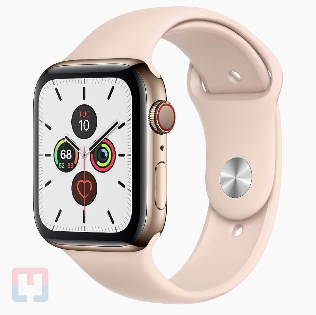 Apple Watch Seri 5 44mm Stainless Steel LTE Band (Chưa Active)