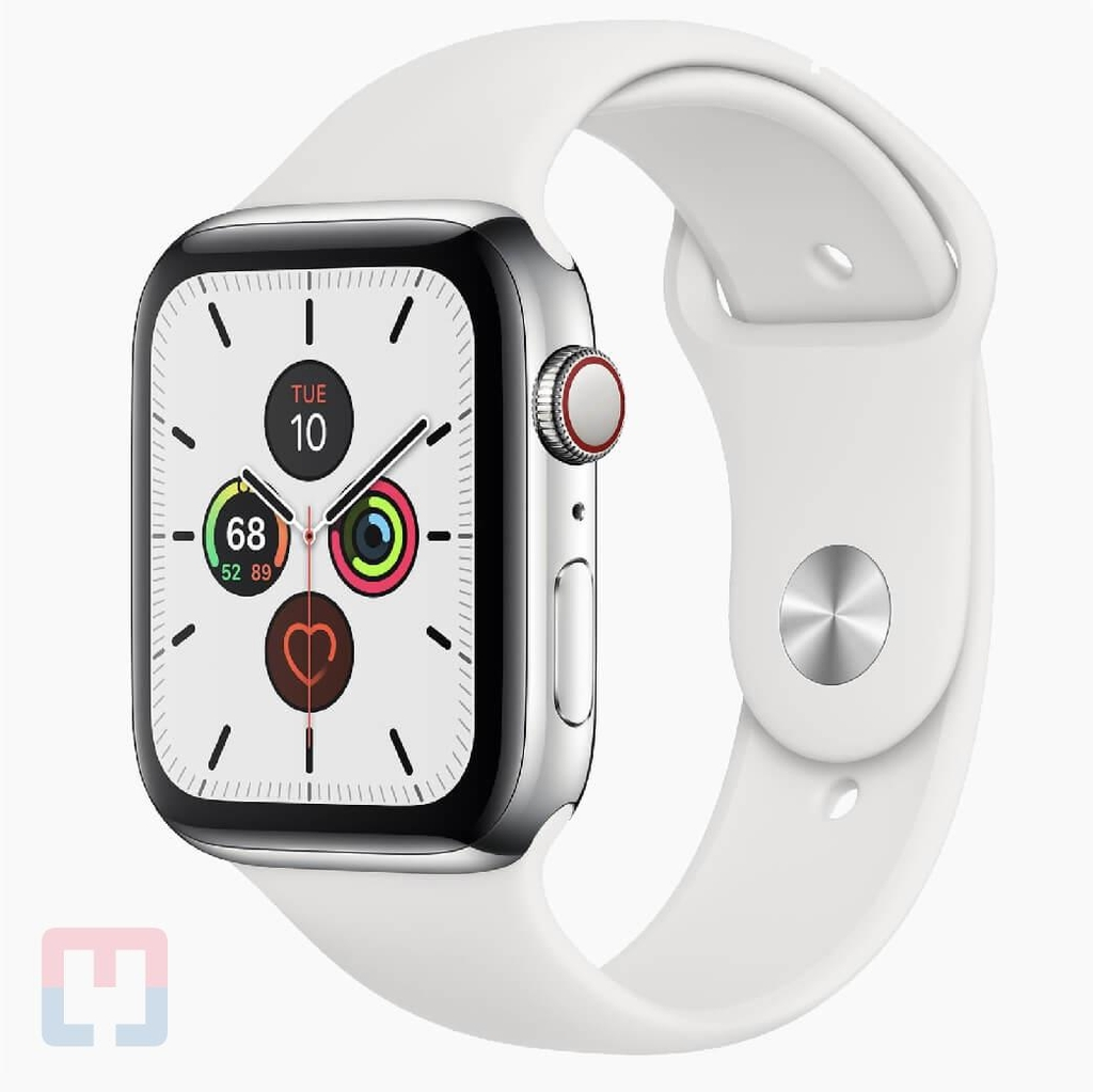 Apple Watch Seri 5 40mm Stainless Steel LTE (Chưa Active)