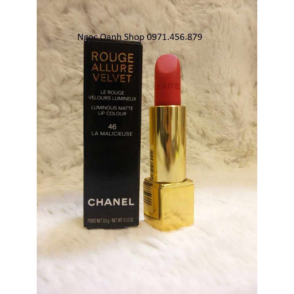 Son Chanel Rouge Allure Velvet #46 La Malicieuse