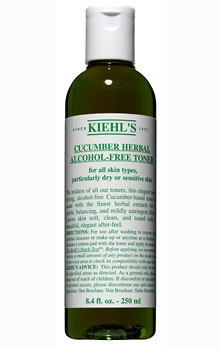 Nước hoa hồng Kiehl's Cucumber Herbal Alcohol Free Toner 250ml