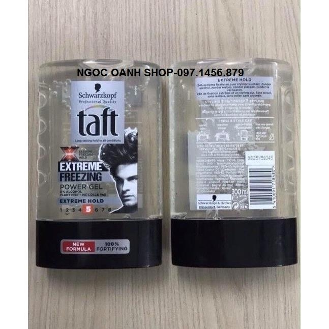 Gel tóc Taff Extreme Freezing #5