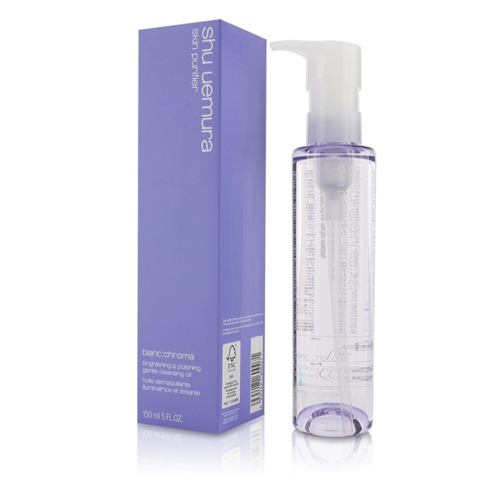 Tẩy trang Shu Uemura Blanc:Chroma Brightening Cleansing Oil tím 150ml