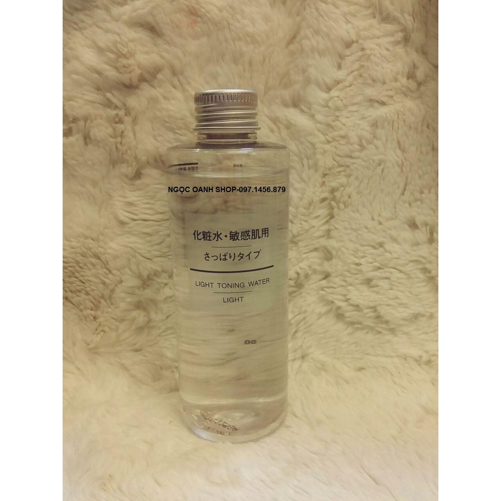 Nước hoa hồng Muji Light Toning Water - Light 200ml