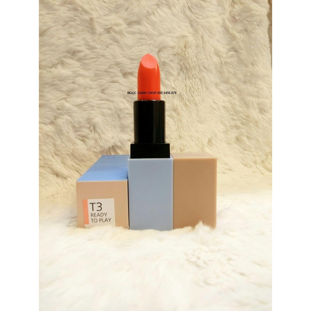 Son Moart Velvet Lipstick #T3 Ready to Play