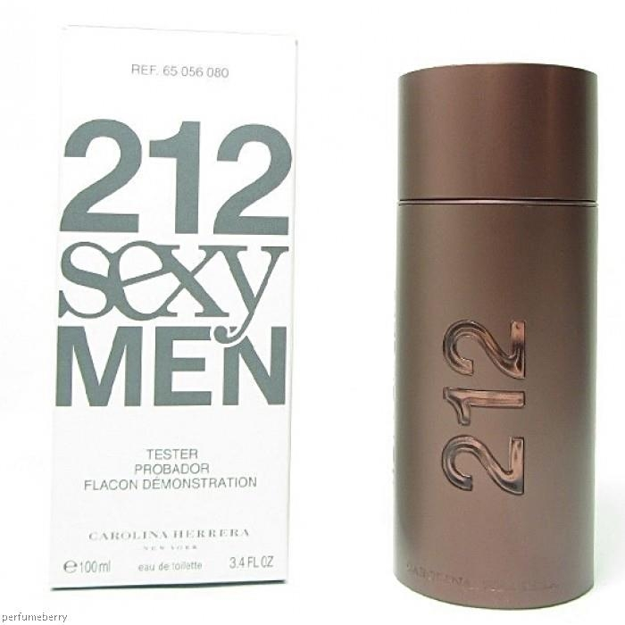 Nước hoa Carolina Herrera 212 Sexy for men EDT 100ml Tester