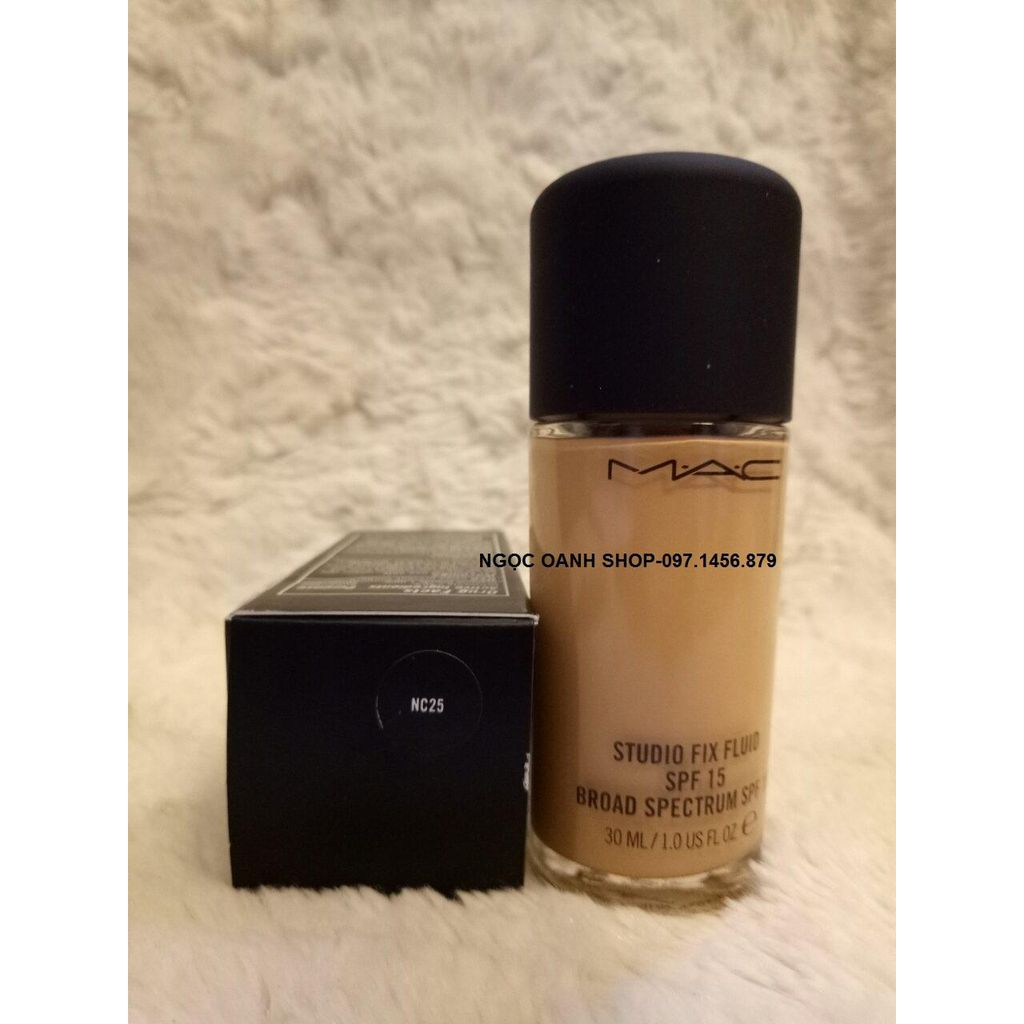 Kem nền Mac Studio Fix Fluid SPF15 #NC25