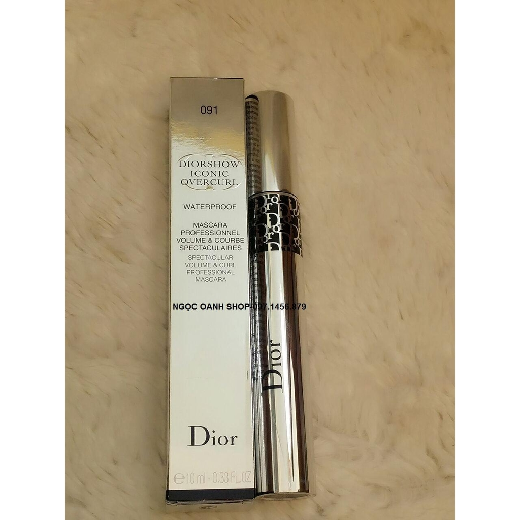Mascara Diorshow Iconic Overcurl Waterproof #091