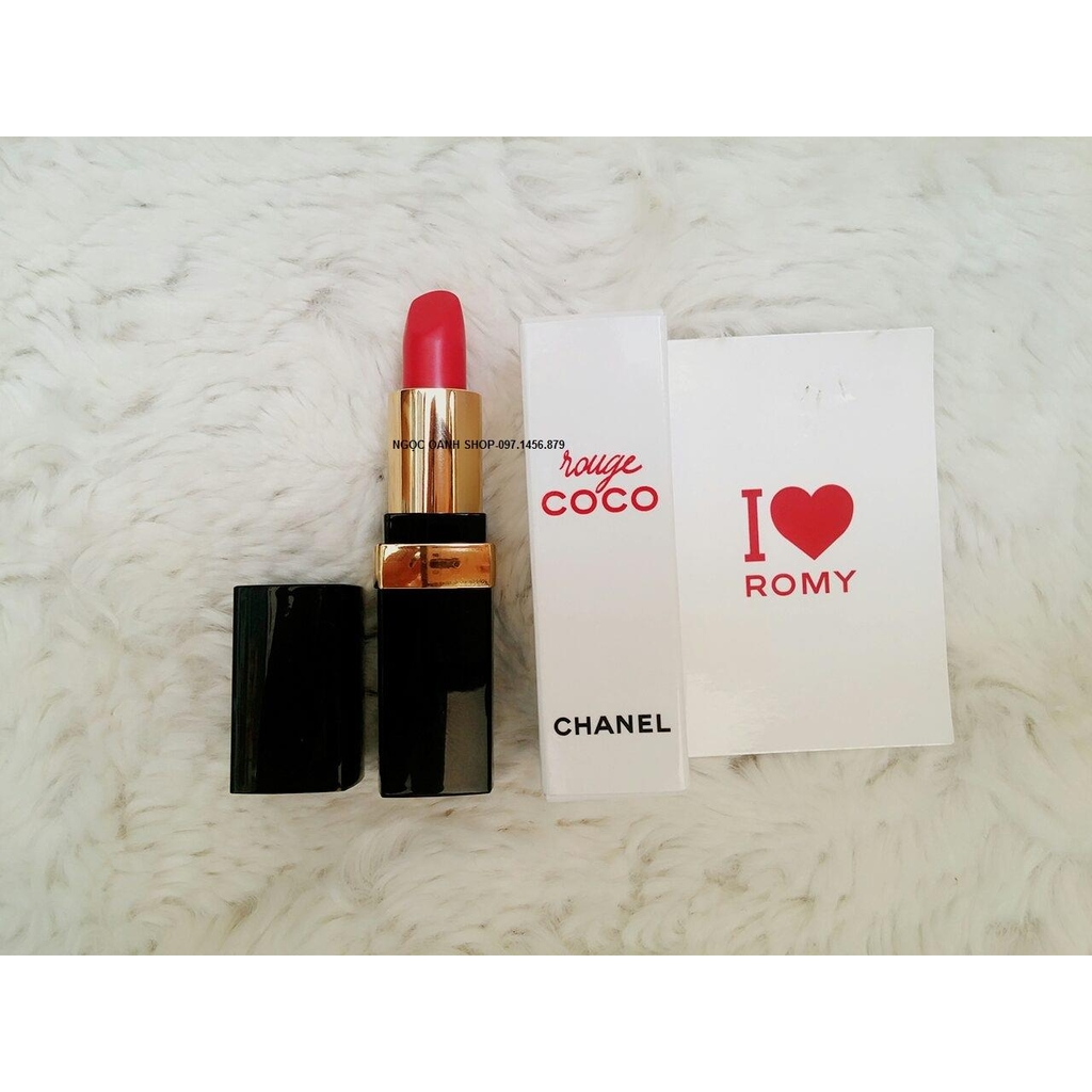 Son mini Chanel Rouge Coco #462 Romy