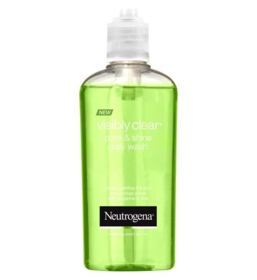 Sữa Rửa Mặt Neutrogena Visibly Clear Pore and Shine Daily Wash 200ml