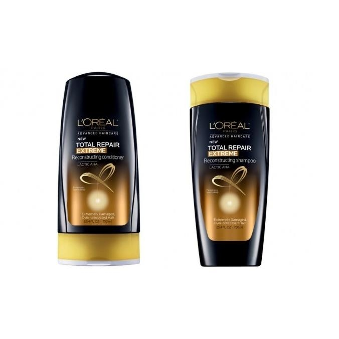 Gội xả L'Oreal Paris Advanced Haircare - Total Repair Extreme - Reconstructing 750ml