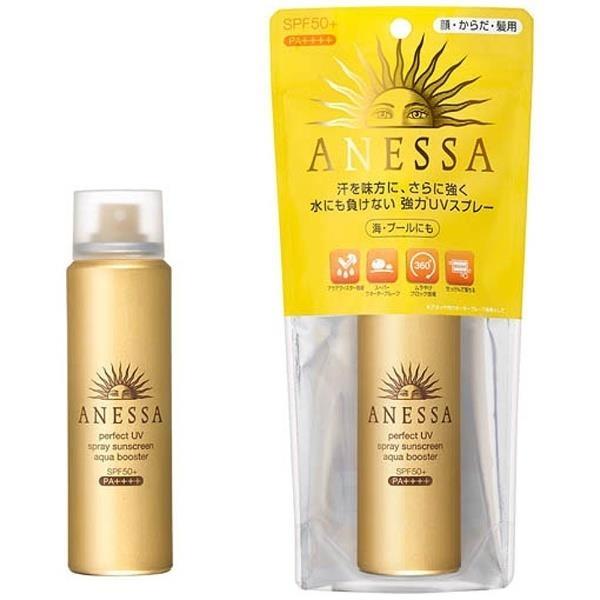 Kem chống nắng Shiseido Anessa Perfect UV Spray Suncreen Aqua Booster 60gr