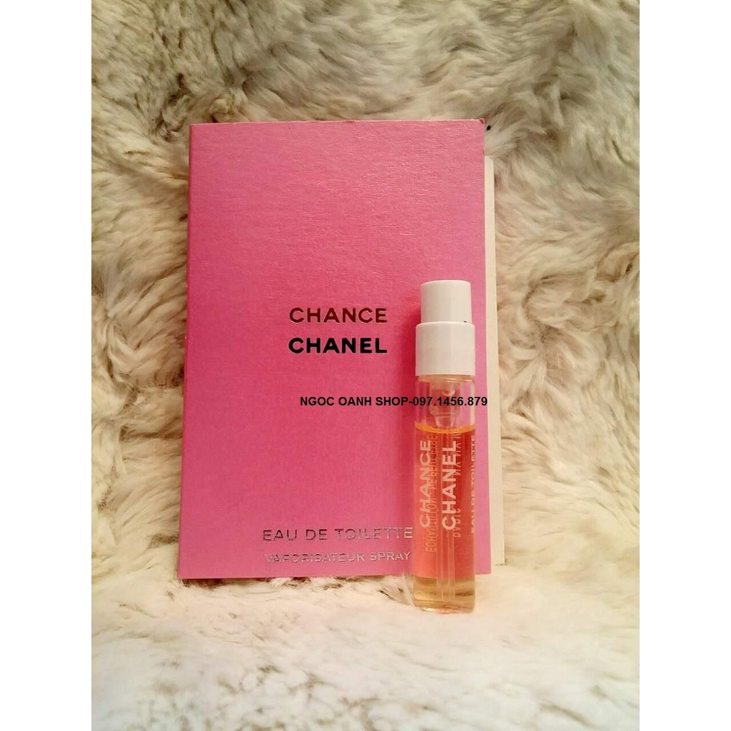 Vial Chanel Chance EDT 2ml