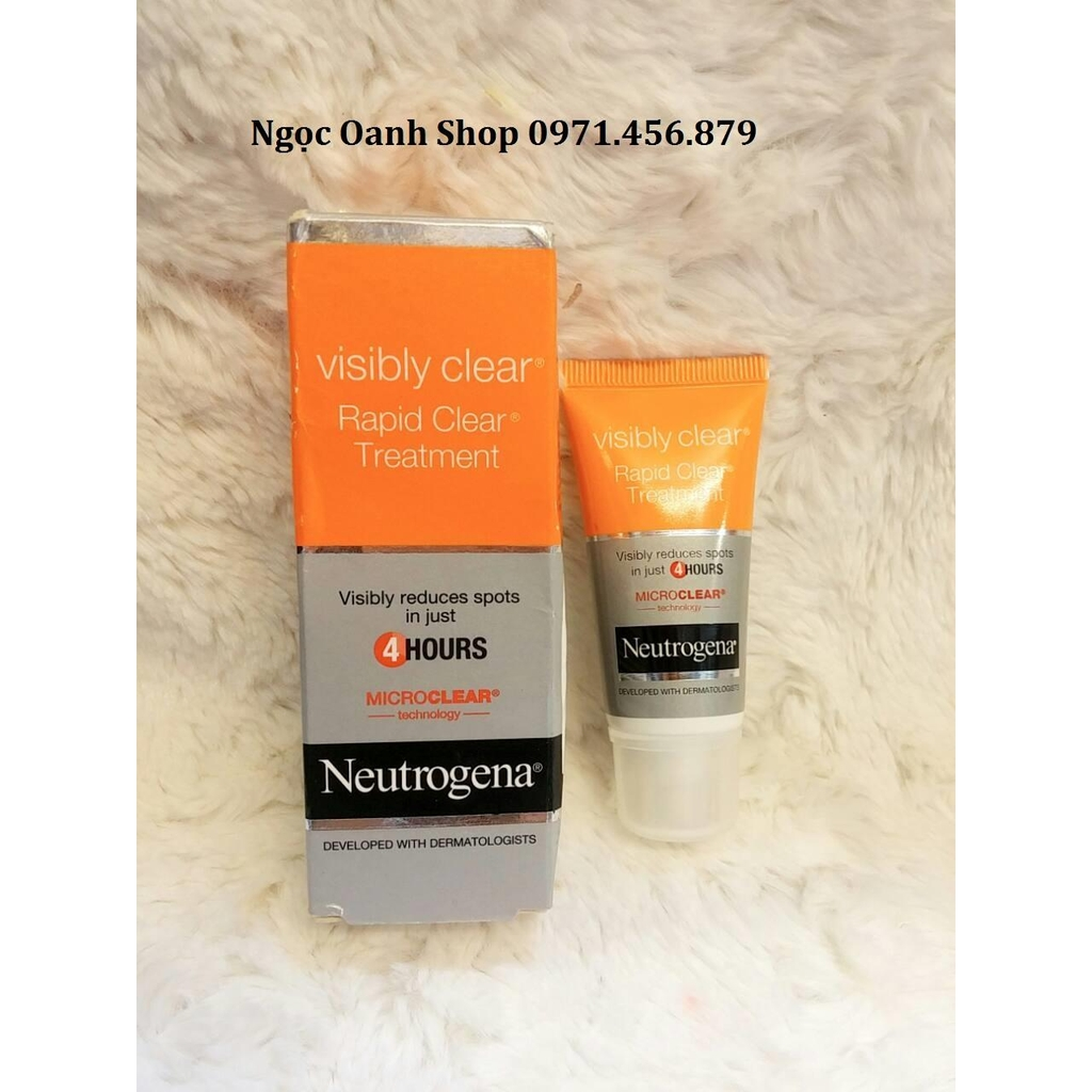Trị mụn siêu tốc Neutrogena Rapid Clear Treatment