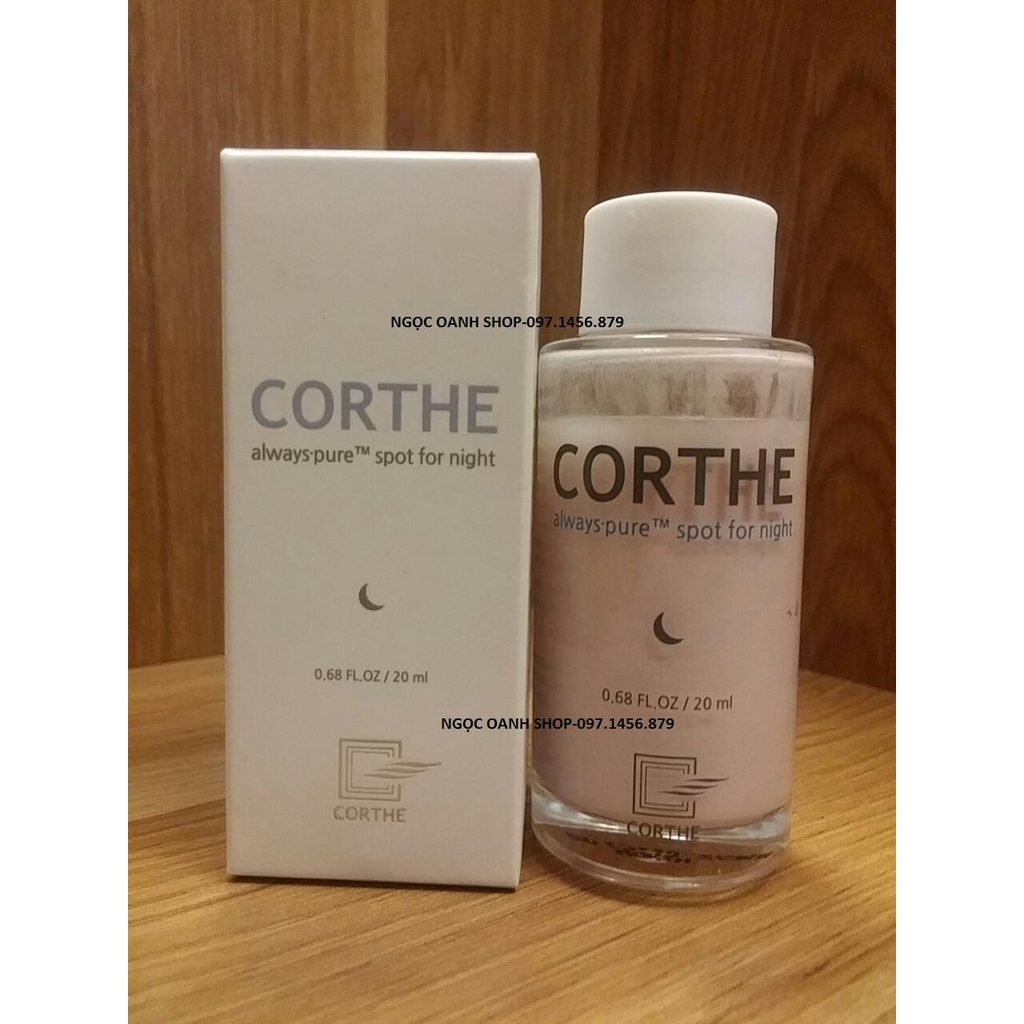 Chấm mụn Corthe always Pure Spot for night 20ml