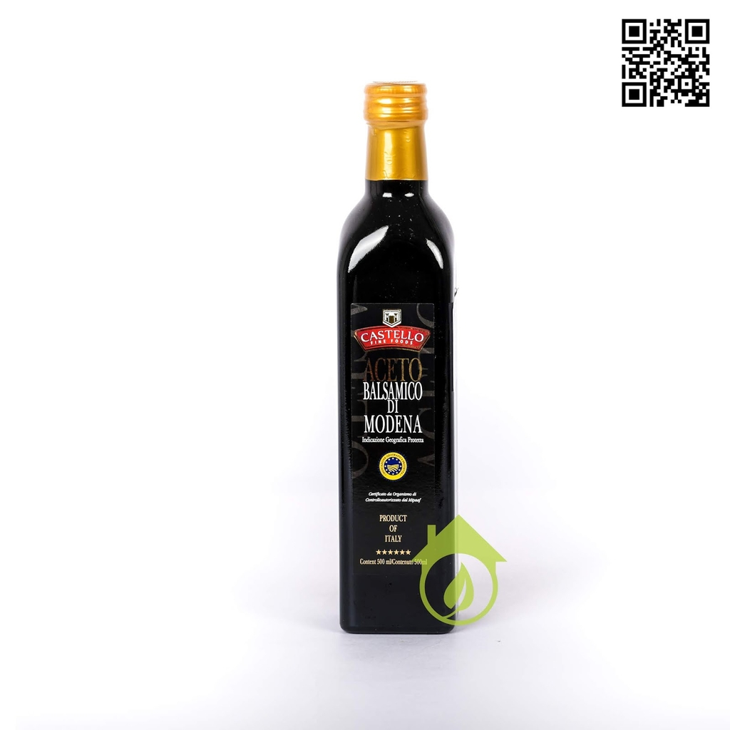CASTELLO - GIẤM ĐEN BALSAMIC 500ML