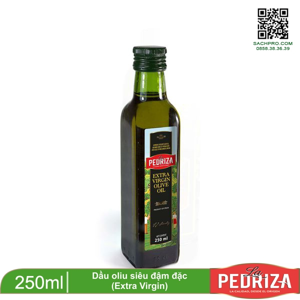 DẦU OLIU EXTRA VIRGIN 250ML-LA PEDRIZA