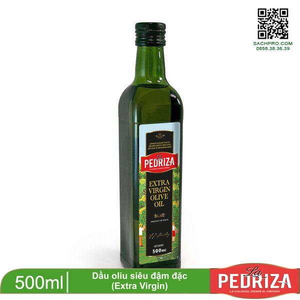 DẦU OLIU EXTRA VIRGIN 500ML-LA PEDRIZA