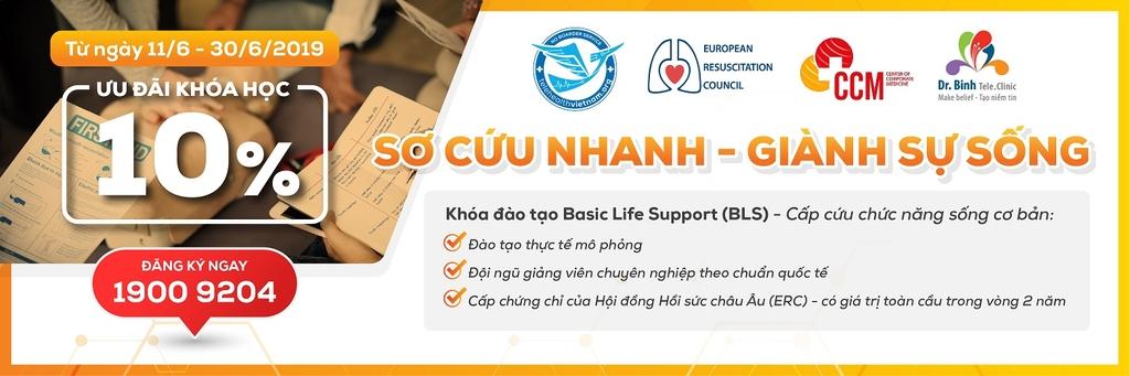 Khóa đào tạo sơ cấp cứu Basic Life Support