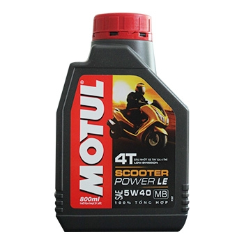 Nhớt Motul Scooter LE 5W40 800ml