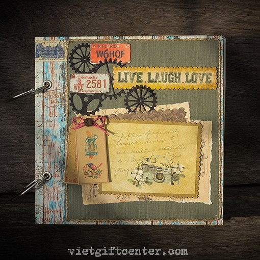 Scrapbook LIVE.LAUGH.LOVE