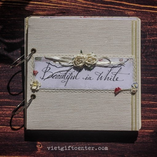 Album cưới handmade Beautiful In White